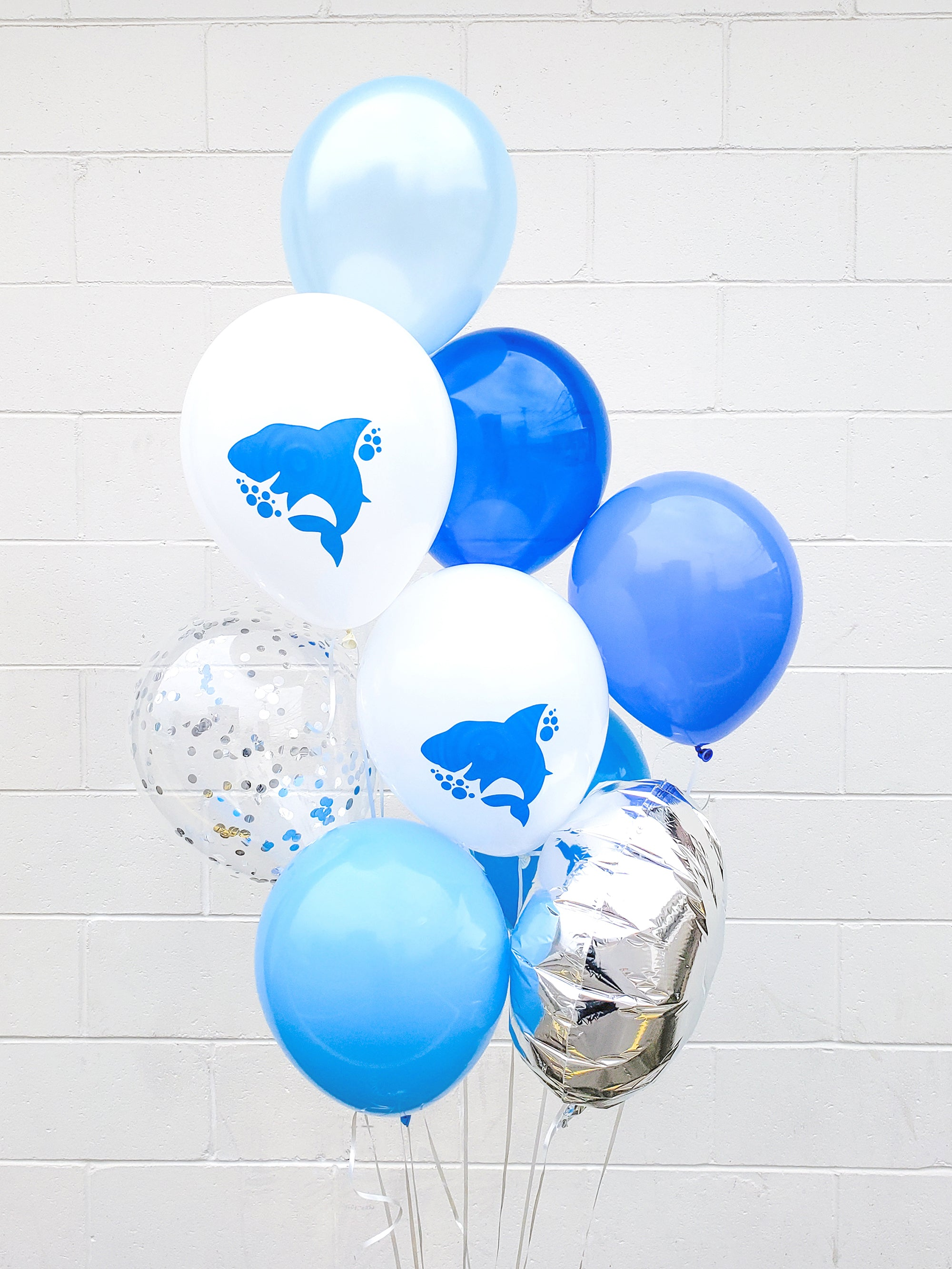 Modern Baby Shark Theme First Birthday Party - Paper & Parties Boutique