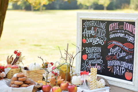 Fall Harvest Apple Orchard Party