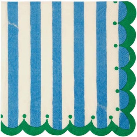 Toot Sweet Blue Napkins Large