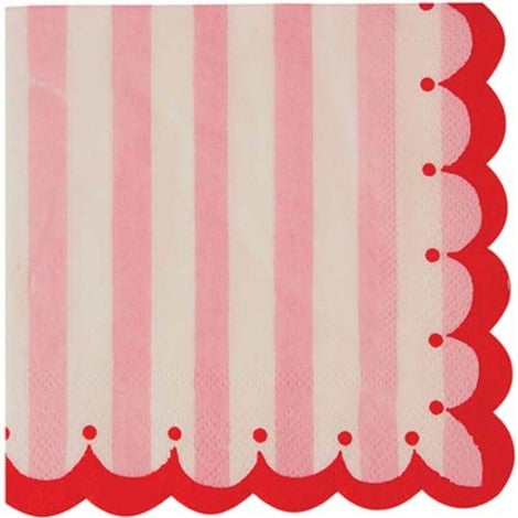 Toot Sweet Pink Napkins Large
