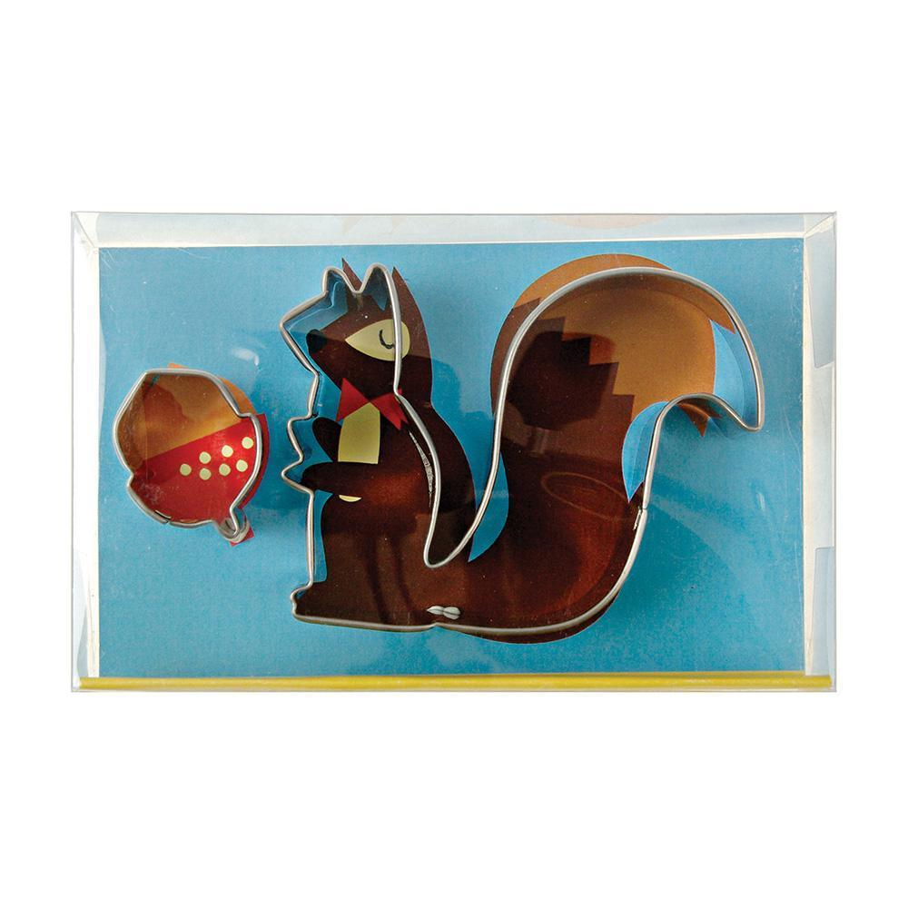 Squirrel & Nut Cookie Cutters