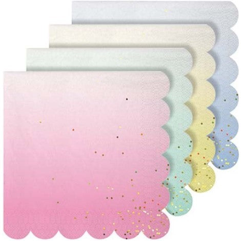 Pastel Ombré Napkins- Small - Paper & Parties Boutique