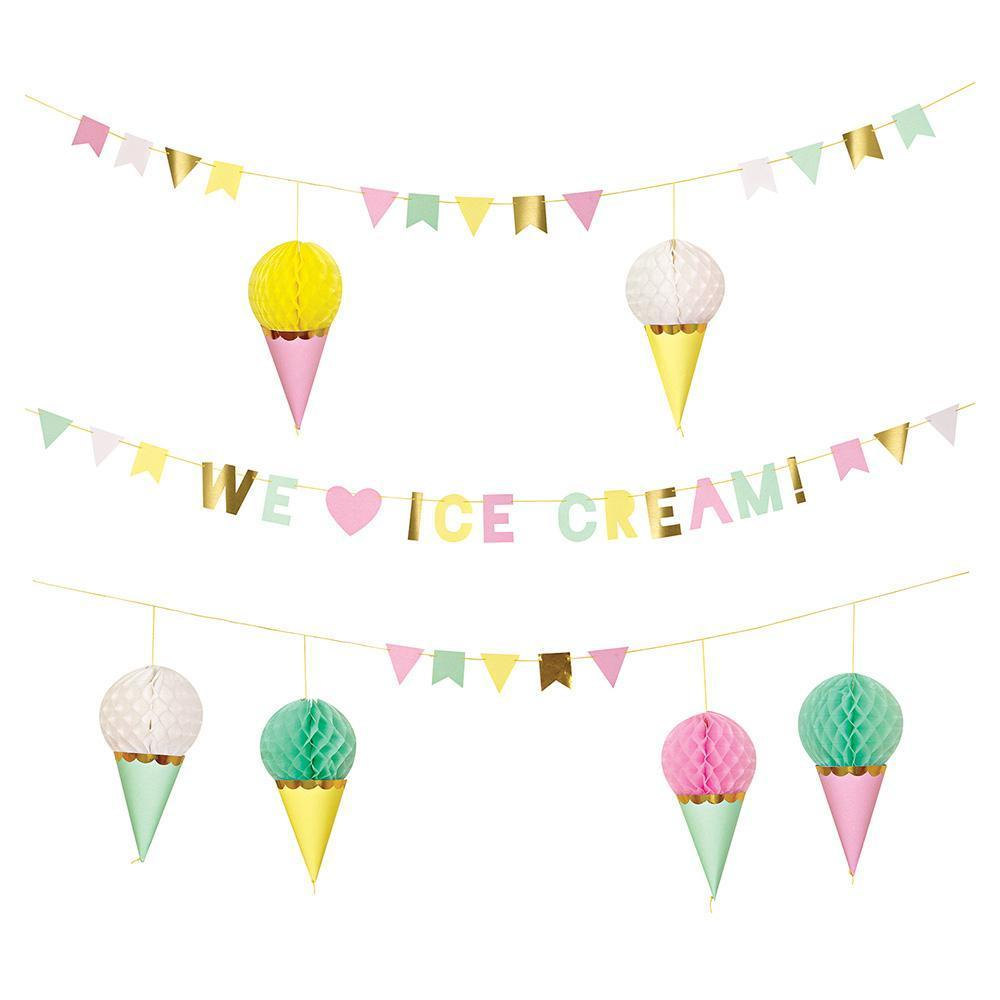 Ice Cream Garland S3061