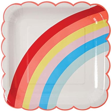 Rainbow Plates- Large - Paper & Parties Boutique