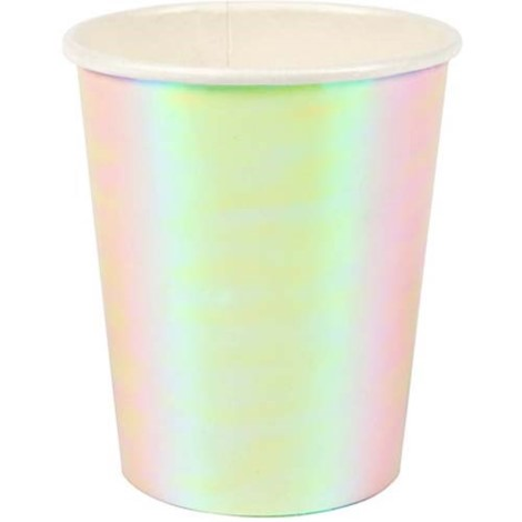 Iridescent Cups - Paper & Parties Boutique