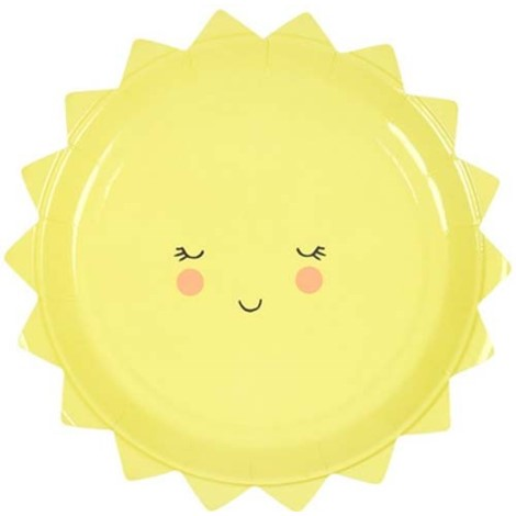 Sun Plates- Small - Paper & Parties Boutique