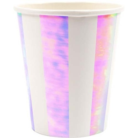 Iridescent Pinwheel Cups - Paper & Parties Boutique