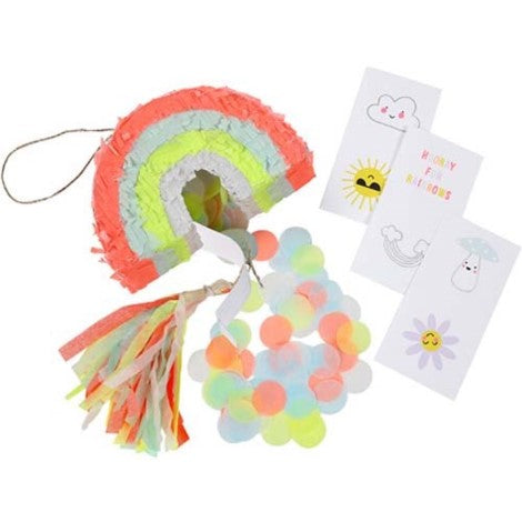 Mini Rainbow Pinata Favors - Paper & Parties Boutique