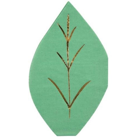 Meri Meri Leaf Napkins - Paper & Parties Boutique | Party Store Vancouver, party supplies Canada