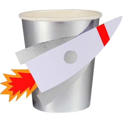 Rocket Space Cups - Paper & Parties Boutique