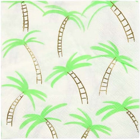 Palm Tree Napkins- Small - Paper & Parties Boutique