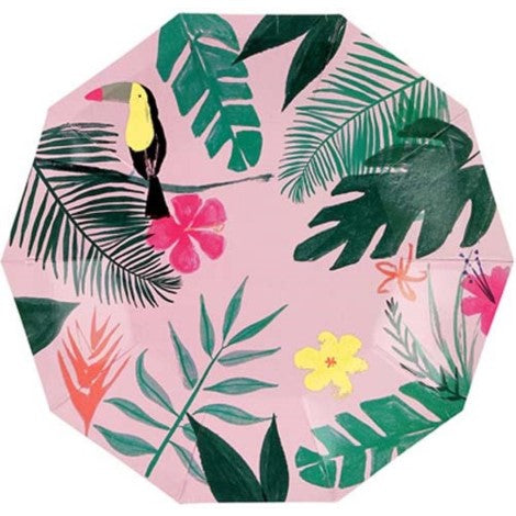 Tropical Plates- Small - Paper & Parties Boutique