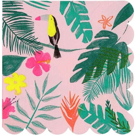 Tropical Napkins- Small - Paper & Parties Boutique