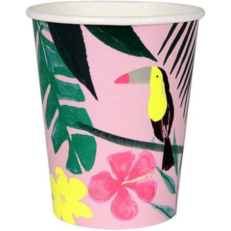 Tropical Cups - Paper & Parties Boutique