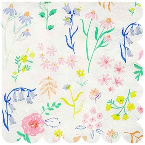 Dainty Floral Napkins- Small - Paper & Parties Boutique