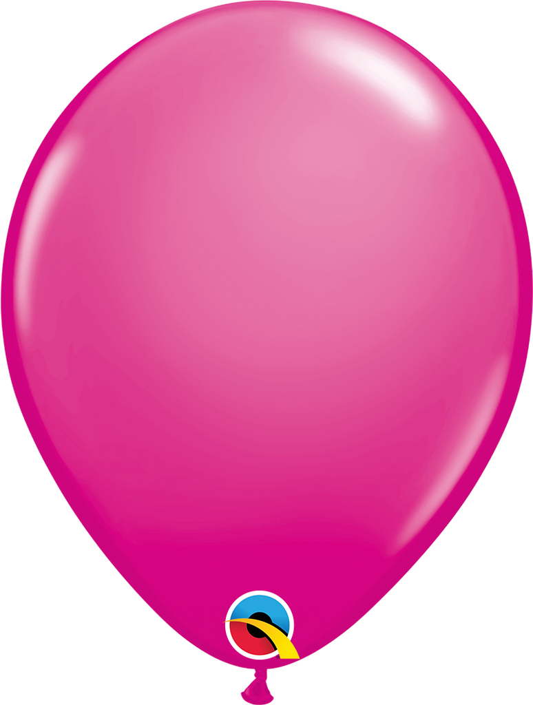 "11"" Wild Berry Latex Balloon - Paper & Parties Boutique"