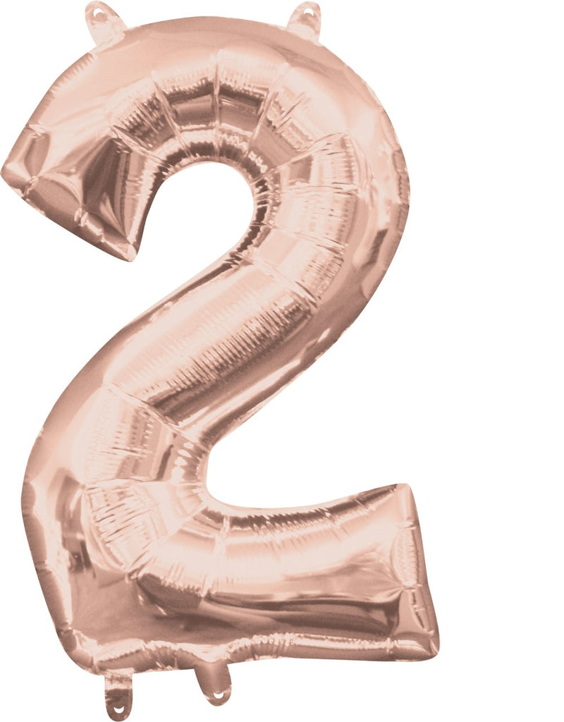 Rose Gold 2 Jumbo Foil Balloon