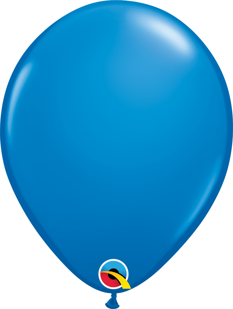 "11"" Dark Blue Latex Balloon - Paper & Parties Boutique"