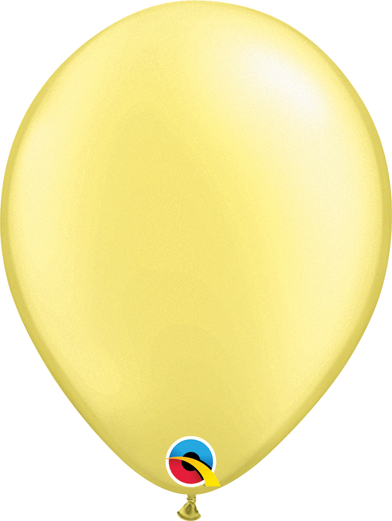 "11"" Pastel Yellow Latex Balloon - Paper & Parties Boutique"