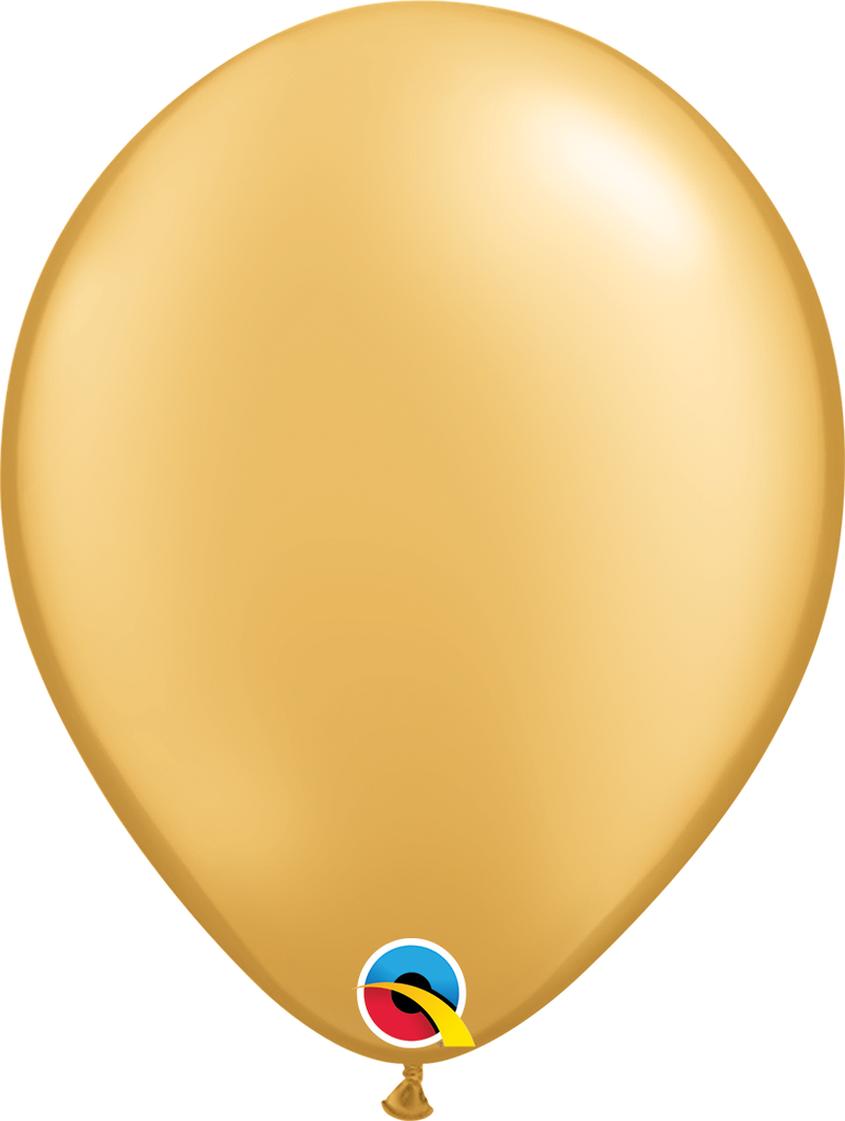 "11"" Gold Latex Balloon - Paper & Parties Boutique Party Balloons"