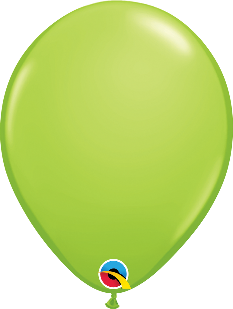 "11"" Lime Green Latex Balloon - Paper & Parties Boutique Party Balloons"