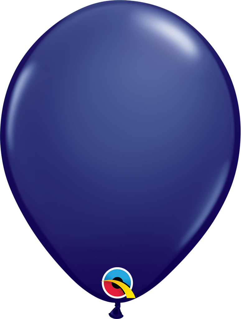 "11"" Navy Blue Latex Balloon - Paper & Parties Boutique"