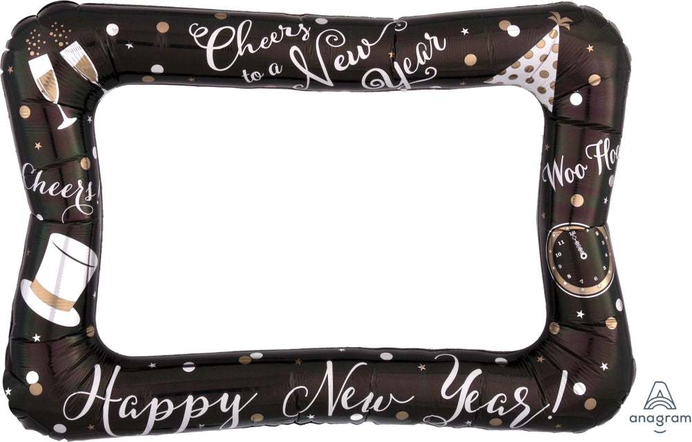 Happy New Year Inflatable Photo Frame