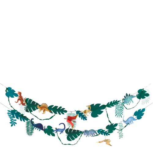 Dinosaur Party Garland Banner S2023