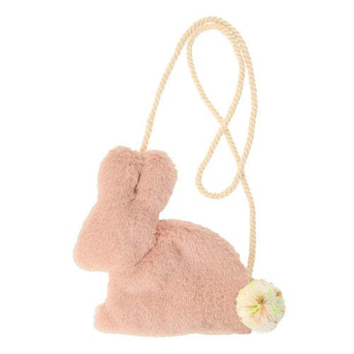 Plush Rose Bunny Purse S2042