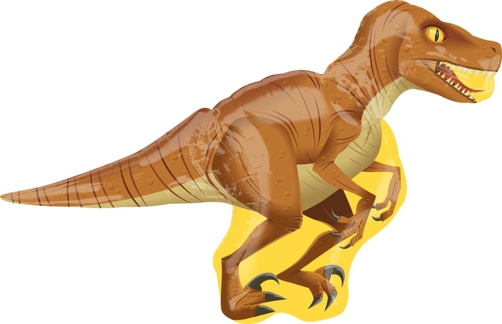 Raptor Dinosaur Jumbo Foil Balloon - Paper & Parties Boutique