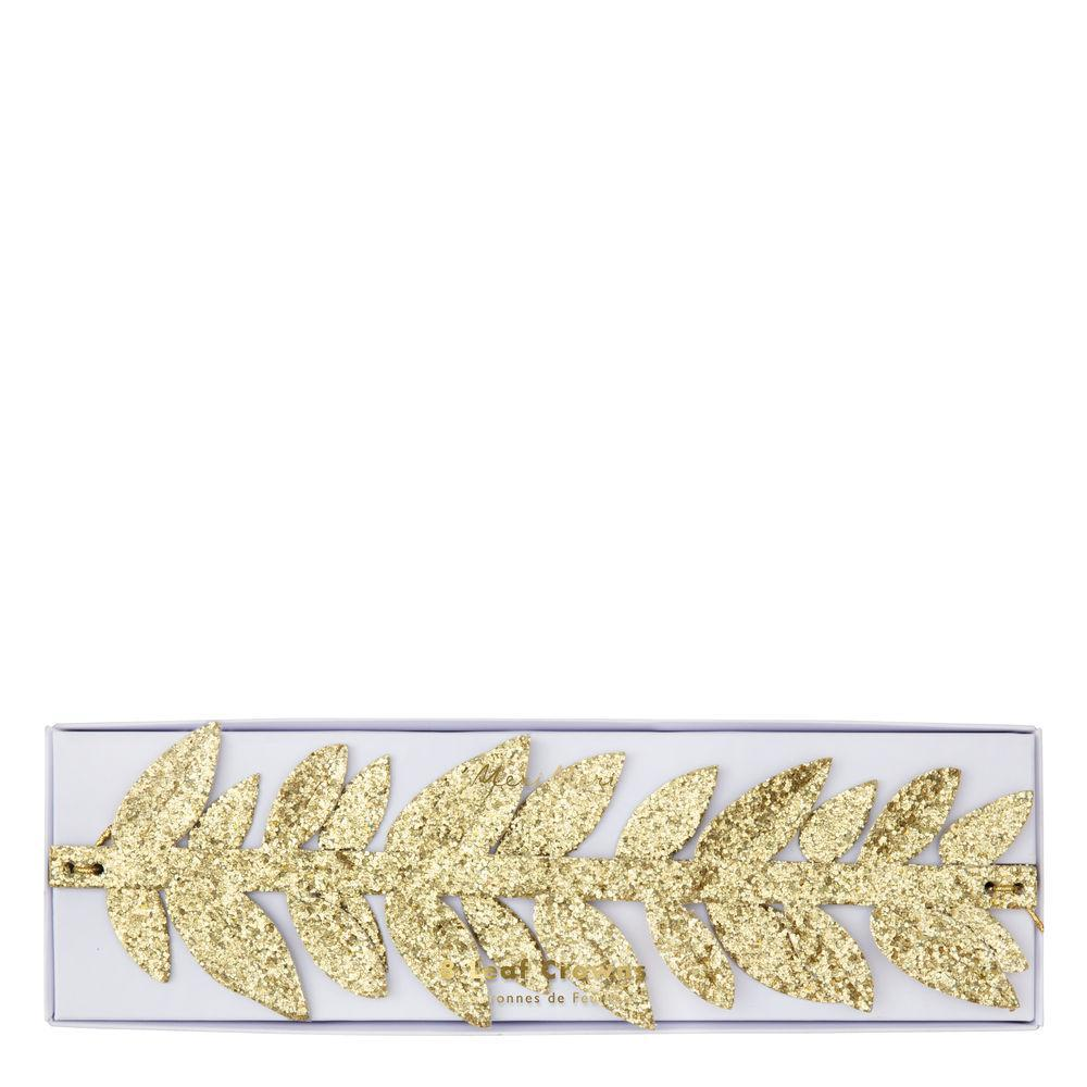 Gold Leaf Party Crowns | Party Supplies Canada