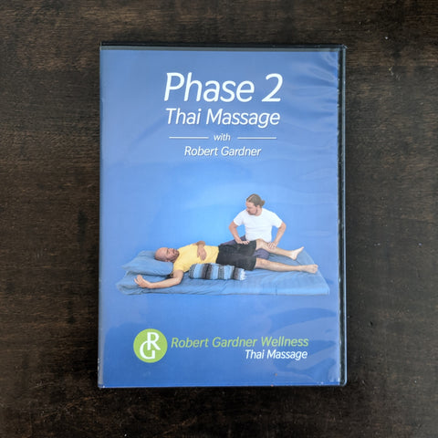 Phase Two Thai Massage - Workbook, DVD and Digital Download
