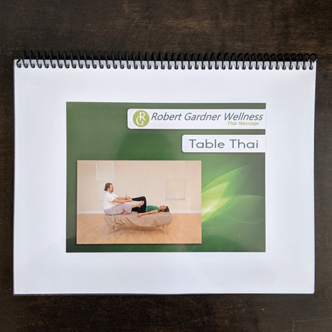 Table Thai Massage - Workbook, DVD and Digital Download