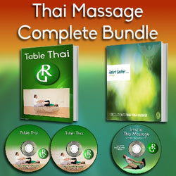 Thai Massage Fundamentals Bundle - Workbook & Videos (Digital Version)