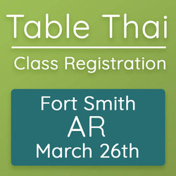 Table Thai - Fort Smith, AR 2020