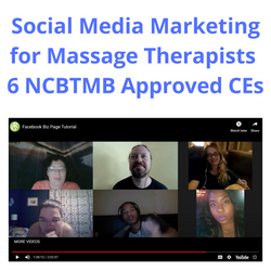 Social Media Marketing for Massage Therapists 6 NCBTMB CEs