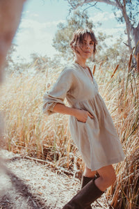 Jane Dress- Natural