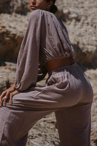 Boundless Pant- Warm Taupe