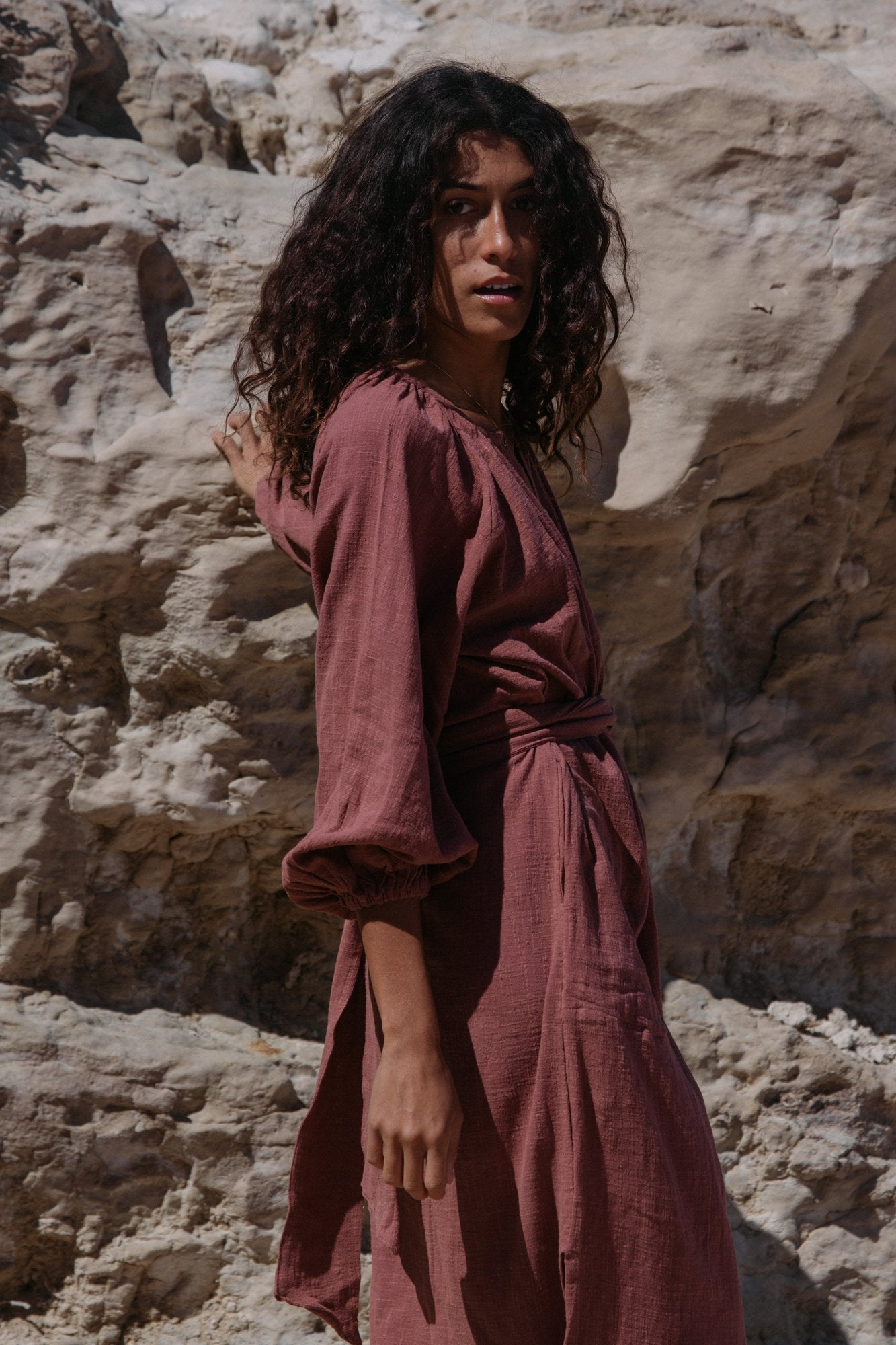 Terra Kaftan- Copper Brown