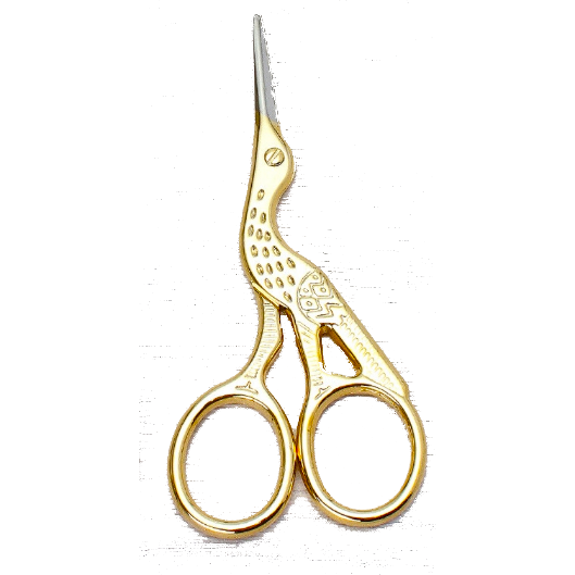 Heron Shaped Beauty Scissors