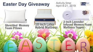 BedStory Easter Day Giveaway