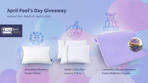 BedStory April Fool's Day Giveaway