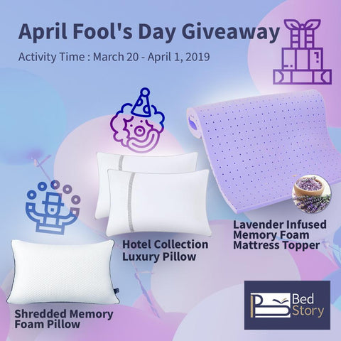 bedstory fool's day giveaway