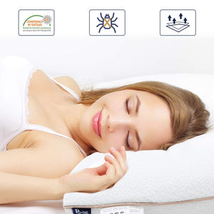 BedStory Gel Infused Memory Foam Pillows
