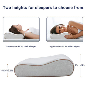 BedStory Curve Gel Memory Foam Pillow