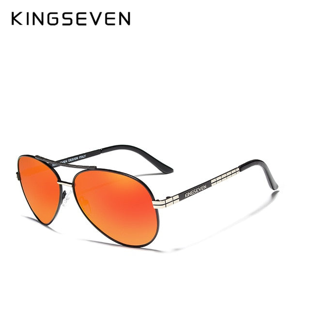 b4d550789725 ... Load image into Gallery viewer, KINGSEVEN Design Men's Glasses  Pilot HD ...