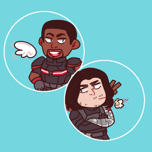 SamBucky Button Set