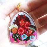 House of M | Clear Acrylic Charm