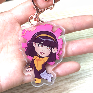 Pink Visions - Acrylic Charm