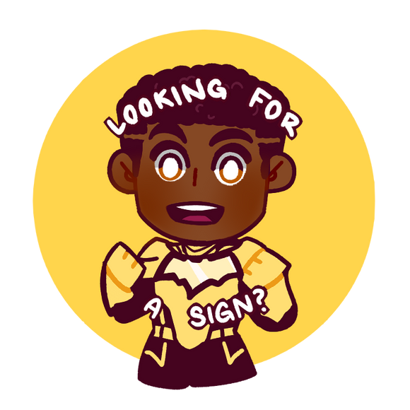 Looking for a Sign? - Duke Button